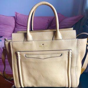 Kate Spade tan tote bag/crossbody